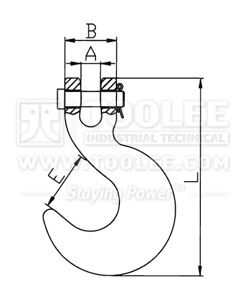 300 1257 Container Hook drawing