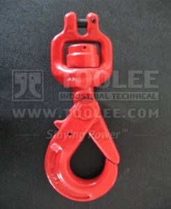 300 1274 Clevis Swivel Bearing Self Locking Safety Hook G80