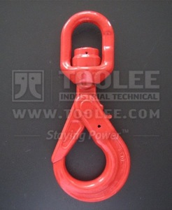 300 1272 Safety Hook Swivel Type With Self Locking Latch and Bearing G80