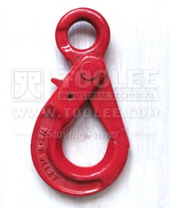 300 1204 Safety Hook Eye Type With Self Locking Latch G80 Commercial