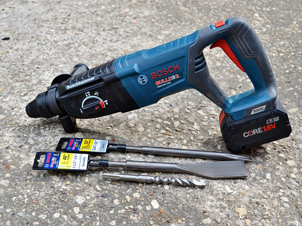 Bosch Cordless Bulldog Review - Tool Girl's Garage