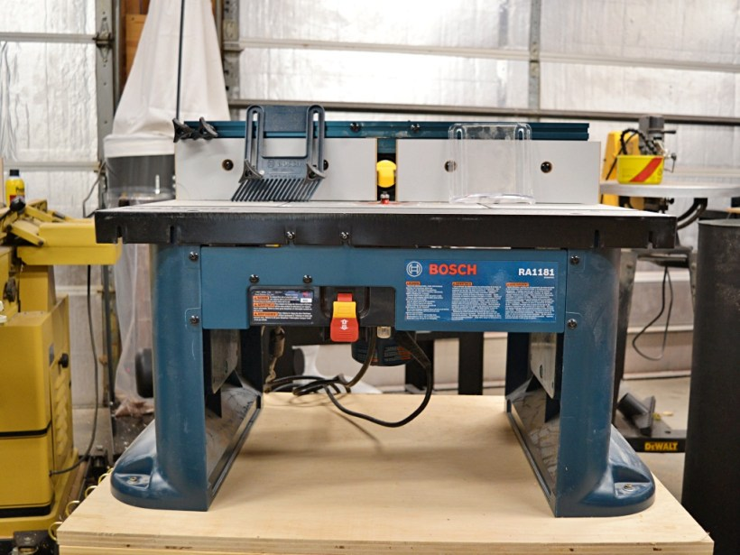 May Tool Favorites - Bosch Router Table