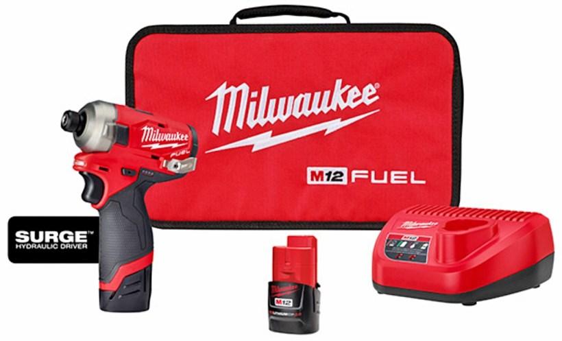 New Milwaukee M12 SURGE Hydraulic Driver