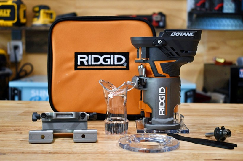 Ridgid Octane Cordless Router Review