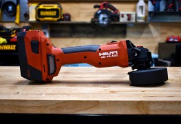 Hilti Cordless Grinder Review