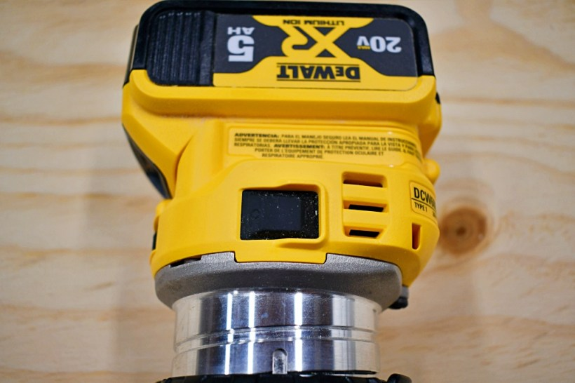 DeWalt included a soft start mechanism for increased safety during use and preventing damage to a workpiece.
