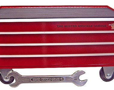Busted Knucle Garage Toolbox Desk Organizer