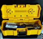 Dewalt Magnetic ToughCase Attached to Steel Toolbox