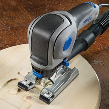 Dremel Trio Plunge Routing with Dust Collection Attachment