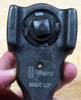 Wera Koloss Assembled Gears