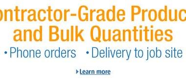 Amazon Contractor Supply Info