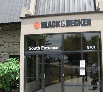 Black & Decker University Dewalt Training Facility Entrance