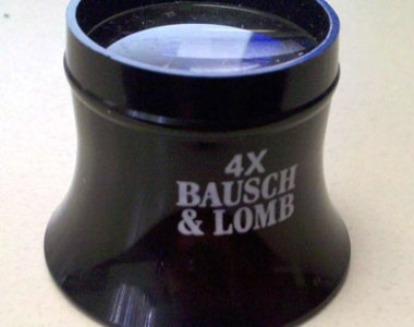 Bausch & Lomb 4x Watchmaker's Loupe