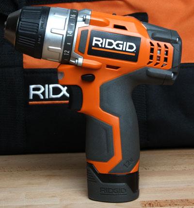 Ridgid 12 Volt Cordless Drill Driver