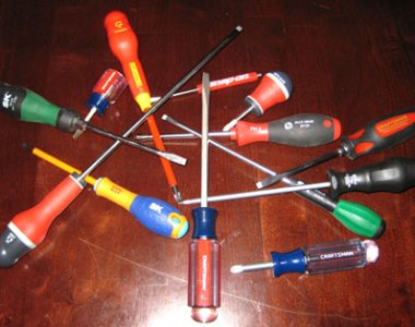 Wide Variety of Screwdrivers
