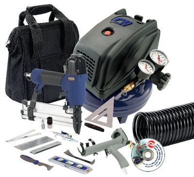 Campbell Hausfeld FP260097 Home Improvement Air Compressor Kit with Caulk Gun