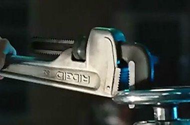 Iron Man 2 Aluminum Ridgid Pipe Wrench