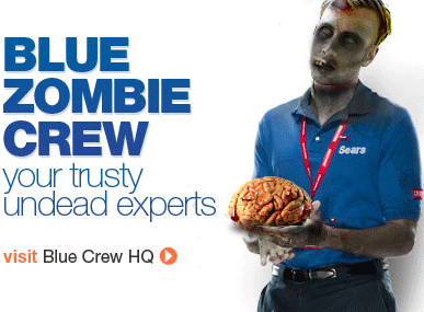 Sears Blue Zombie Crew Undead Experts