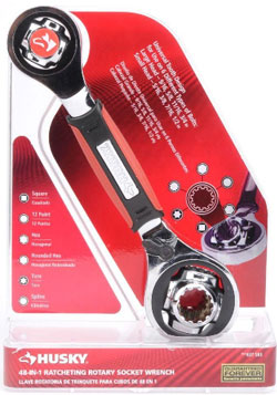 Husky 48 in 1 Ratcheting Rotary Socket Wrench User Review