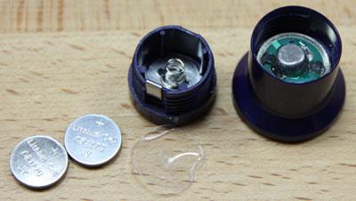 Kobalt Multi Drive Wrench Flashlight Insides