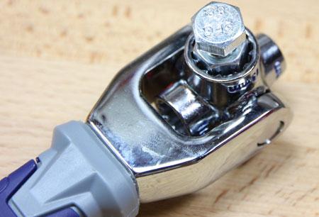 Kobalt Multi Drive Wrench Metric Socket M8 Bolt Test