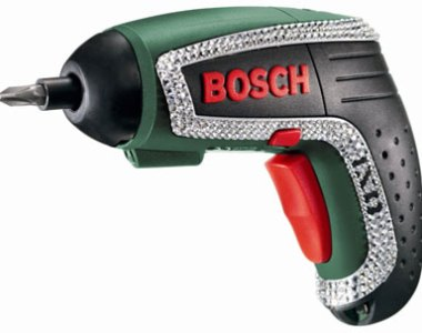 Bosch IXO Lithium Ion Screwdriver with Swarovski Crystals Limited Edition