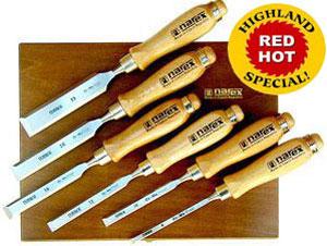 Highland Woodworking Narex Chisel Set Special Sale