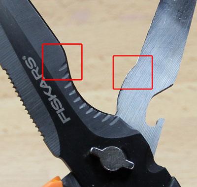 Fiskars Cuts + More Scissors Open Closeup