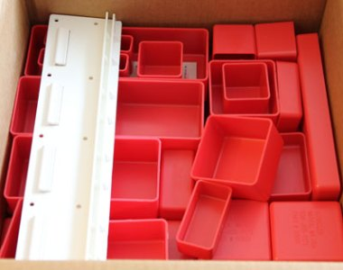 Schaller Plastic Bin Toolbox Organizers New Order Feb 2011