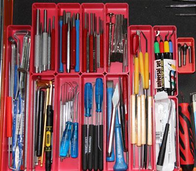 Schaller Plastic Box Tool Box Drawer Organization