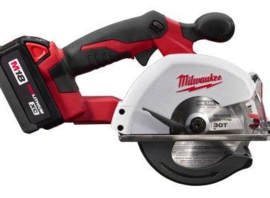 Milwaukee 2682-22 M18 Metal Cutting Saw Side View
