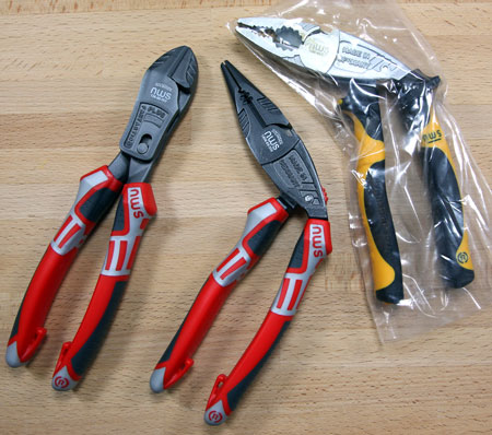 NWS Ergo Combi Plier Fantastico Plus Cutter and Multi-Ergo Plier
