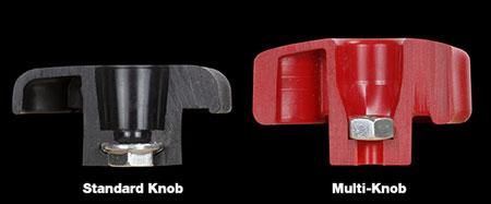 Woodpeckers Multi-Knob vs Standard Knob Comparison
