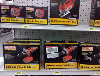 Craftsman Professional 20V Drill Driver and Jigsaw Add-ons