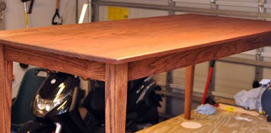 Jeff Degenhart Dining Hall Table Stained