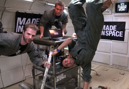 Made in Space NASA Test Flight 3D Printing