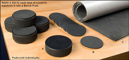 Lee Valley DIY Bench Pucks