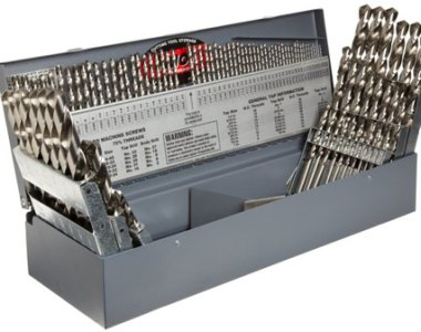 Precision Twist 114pc Drill Bit Set