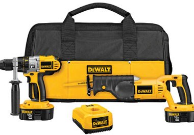 Dewalt DCK251X Hammer Drill Reciprocating Saw Combo