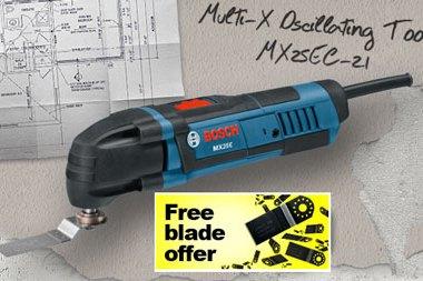 Bosch Multi-X Free Blade Offer