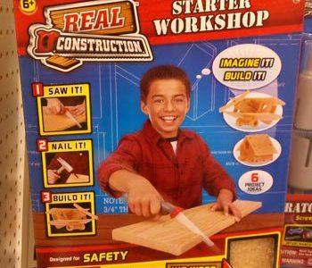 Real Construction Kid Wood Starter Set