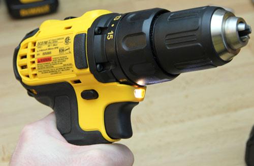 Dewalt 20V Drill DCD780C2 LED Delay