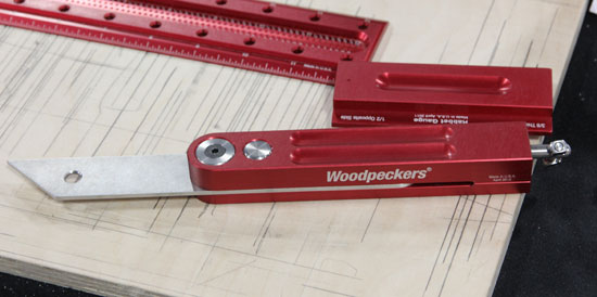 Woodpeckers Bevel Gauge Side