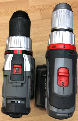 Porter Cable 18V Drill Driver PCL180CD Comparison