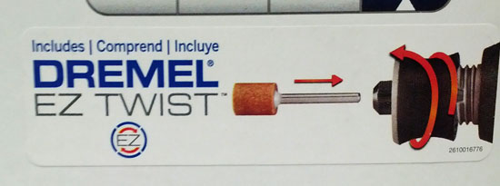 Dremel 4000 Updated Kit Built-in Collet Wrench