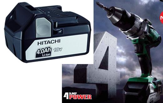 Hitachi 18V 4-0 Li-ion Battery