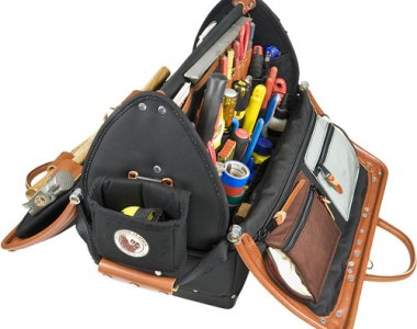 Occidental Leather Doctor Wood Tool Case Open