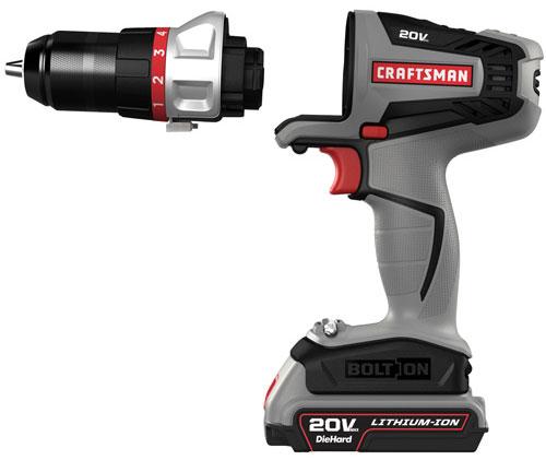 Craftsman Bolt-On 20V Drill Driver Attachment