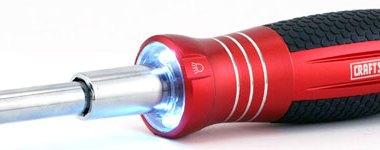Craftsman LED 6-in-1 Screwdriver