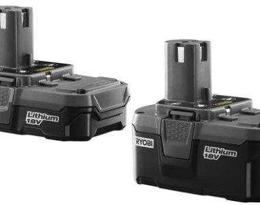 Ryobi One Plus Lithium Ion Battery Packs